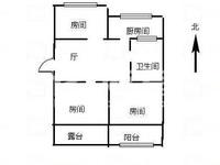 出售花园中小学花园西村3室1厅1卫62平米58万住宅