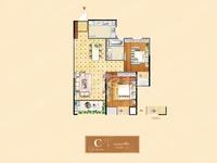 香榭丽园,两室两厅精装修,周边配套齐全,超高性价比,满两年!
