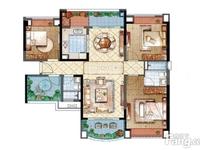 雅居乐星河湾4室2厅2卫毛坯房楼层好采光好,繁华地段,交通方便,随时看房