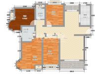 青枫板块,地铁口,毛坯4房2卫好户型,255万!