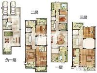 急售。尚枫澜湾别墅,赠双车库百平花园,自带电梯井,使用面积500平