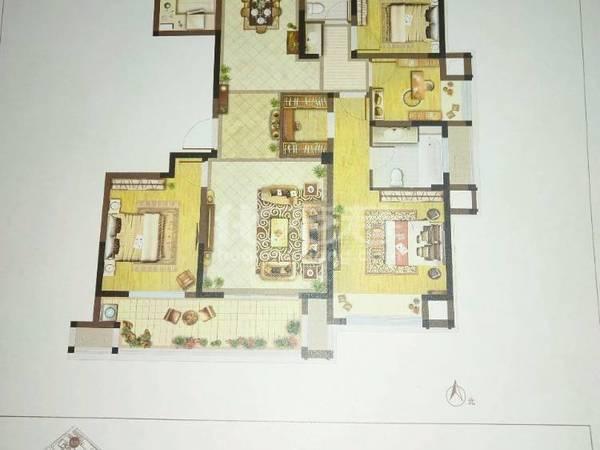 出售五星星韵城4室2厅2卫140平米200万住宅