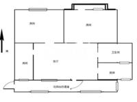 机械二村 3楼 3室1厅1卫 69.97平 69万 简装