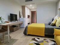 九洲湾星公寓,楼下BRT直达,近口,通天然气,拎包入住。