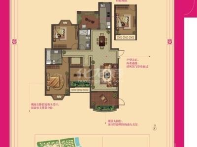 大名城西区3室2厅2卫精装修品牌家电家具楼层好采光好小绿化好繁华地段交通方便