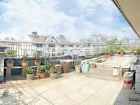 紫荆苑超性价比5楼复式二层别墅实用面积260平,买一层用三层超大露台