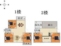 急售燕阳花园顶楼复式5室2卫,面积宽敞,超大阳光房,南北通透,6开间朝南全天采光