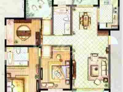 三开间朝南双阳台四房两卫实验小学机关幼儿园旁不靠高架景观房御城精装修品牌装修好房