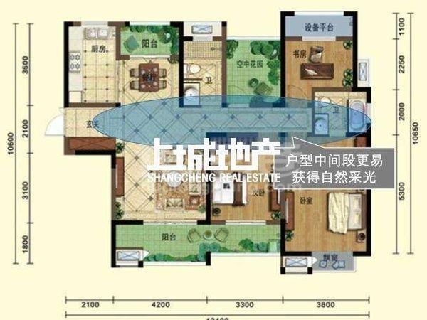 弘阳广场世纪华城旁精装4房266万满两年