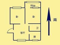 通济新村,好楼层两房朝南,博小北郊可用!随时看!