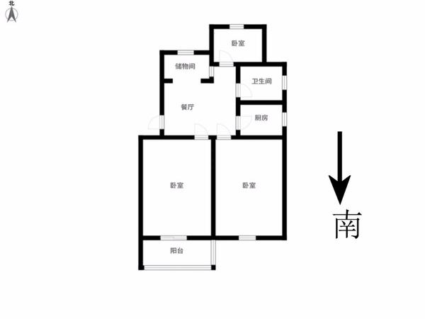红梅西村 二楼 采光好 装修清爽 小三房 随时看房