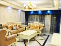 成熟配套滨江明珠城新装修 满两年中柍空调带暖气 欧式大气雅致装 品牌家具电全留