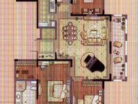 大润发商圈旁 龙德花园毛坯4房南北通透楼层好有钥匙随时看房