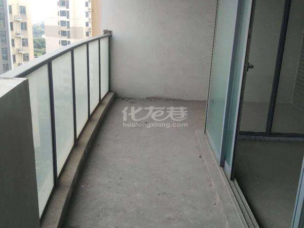 弘阳广场旁 新城长岛纯毛坯四房 三开间朝南 超大阳台