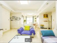 紫金城 高档小区 房子精装修 三开间三室向南 采光透亮 17楼顶层视野开阔