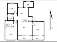 新城南都御苑,精装刚需大三房,品牌家具家电,双阳台,三室朝阳