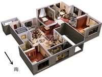 金地天际纯毛坯可做婚房高端小区复式得房率高有钥匙速约13776865405