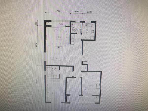 朗诗国际高层148平方 三南二厅精装修设施全看房随时