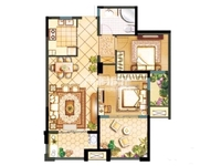 好房置顶 阳光龙庭 中间楼层 纯毛坯 随时看房 学區可用