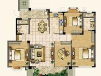 天润国际花园洋房 顶楼坡式屋顶 四开间朝南有钥匙御城聚盛花园