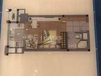 在龙虎塘实验小学对面有精装带天然气且配套齐全的公寓