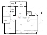 吾悦广场精装4房 实小本部 户型周正 空间感好 品牌家电齐全 业主诚售