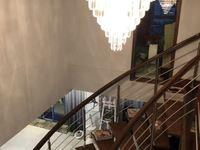 新区公园蓝色港湾202平精装复式5室空中别墅享受