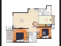 出售觅小 清潭中学运河天地2室1厅1卫70平米166万住宅