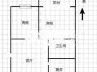 急售工人新村3室1厅2卫63.7平米59万住宅