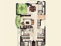 翡丽蓝湾 毛坯3房2厅2卫 满两年 西太湖花博园 星河丹堤旁