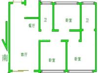 牡丹领秀汇,17楼三井教育房,纯毛坯3房,有钥匙