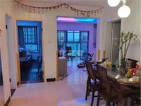 滨江明珠城两房出租,自住房首次出租,带个车位,紧邻菜场学校