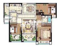 雅居乐星河湾5楼118平3室2厅2卫毛坯售价200万