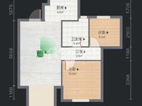 蔚蓝天地总价很低的一套两居室