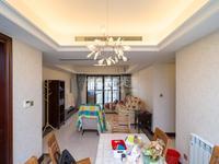 龙誉城旁新城香悦半岛 精装修 三室两厅 三朝南 南北通透 户型很好 看房方便