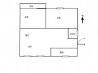 出售城中花苑2室2厅1卫93平米119万住宅精装修