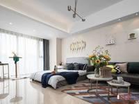 飞龙路BRT旁 锦鲤公寓样板房售 45平47万 家具家电全送