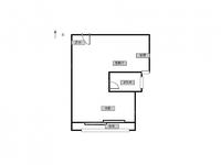 整租九洲新世界广场1室1厅1卫 居住BG的理想选择 近D铁