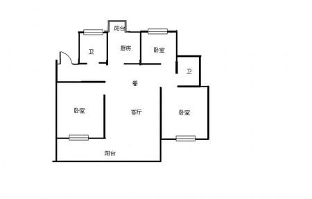 三井小学 实验中学 万达旁 兴业苑135平 近地鐵 市政府