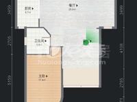 中央花园顶楼复式毛坯5室2厅2卫 无敌景观 真盘实价 钥匙在手随时可看