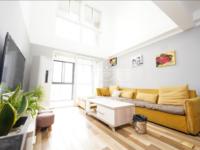 新推:万科城空中大平层、复式挑高四居室、精装满二省税、户型好、急售
