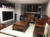 飞龙公园旁的银河湾二期2室2厅1卫精装修品牌卫浴家电实木家具,不靠铁道,随时看房
