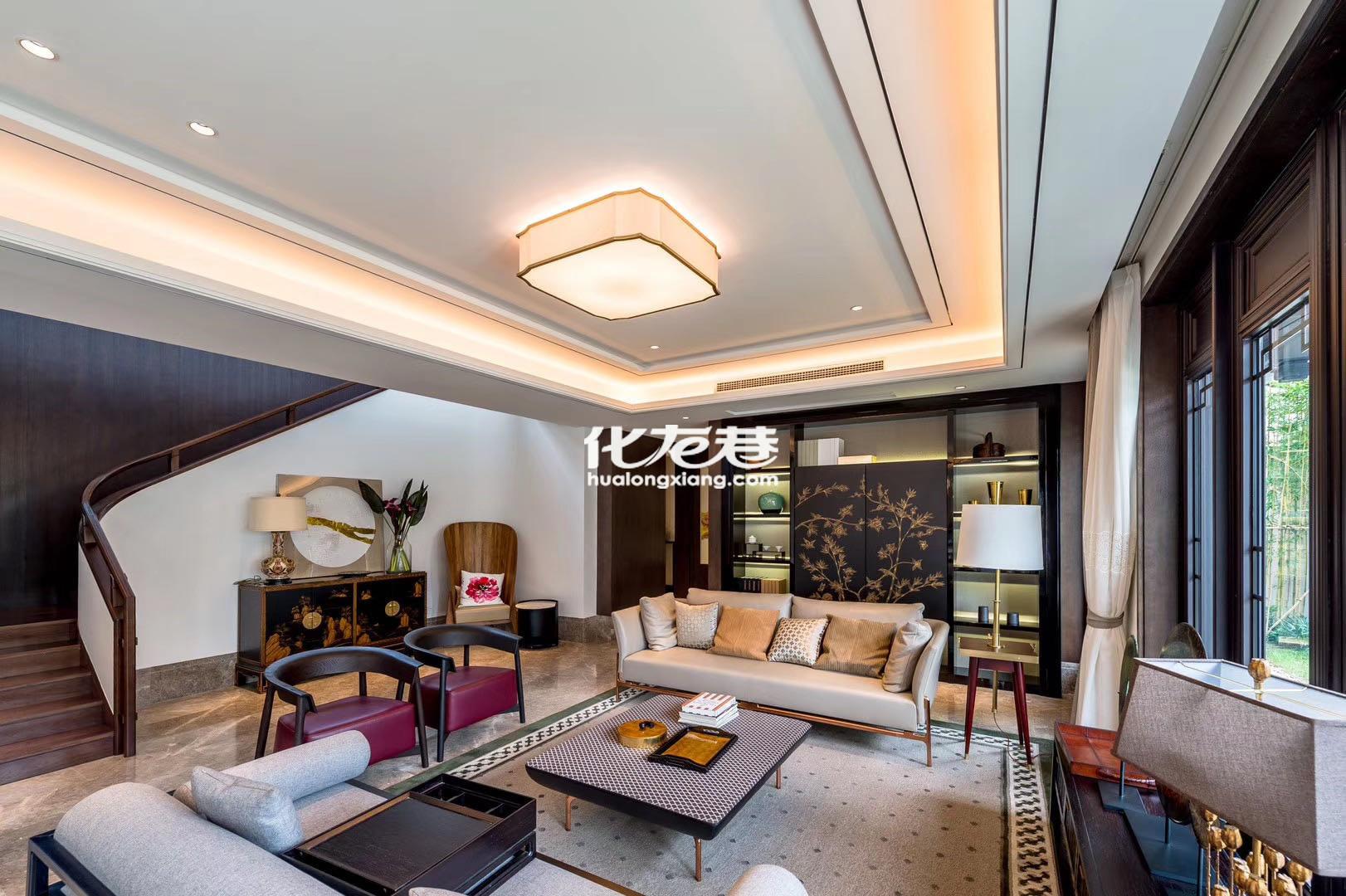 江南印象独栋合院 中式园林风格 单价2万 买多大送多大 直签