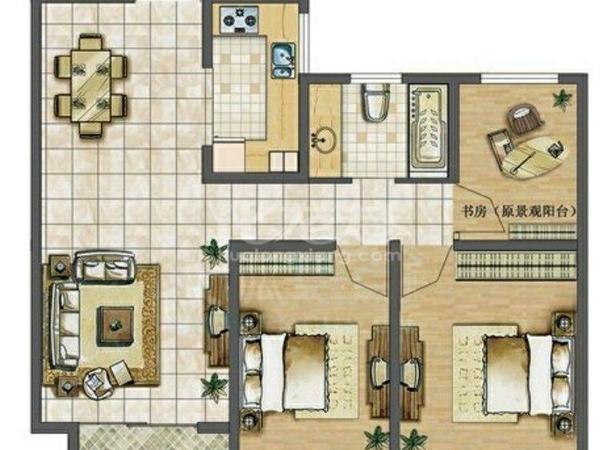 天润国际花园精装婚房、刚需三居室。满二南北通透、业主诚意出售、