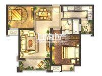 城置御水华庭25楼89.76平2室2厅1卫毛坯售价148万