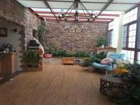 滨江明珠城豪装顶复 使用面积280平 前后大花园 中氧空调