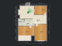 急金鼎公寓 精装三房 单价低 房东诚心出售