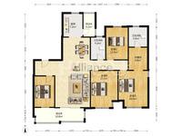 聚湖雅苑满二,4房朝南楼层好,全明户型,居住舒适,品质小区,楼层佳,采光好