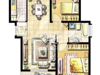 花园街地铁旁新城风尚精装两房出售 南北通透东边户