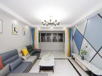 地铁口旁边腾龙苑2室豪华精装,未住,好位置,北郊旁,双证齐全